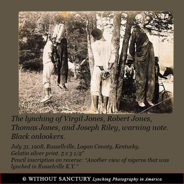 Without Sanctuary Lynching Photography in America