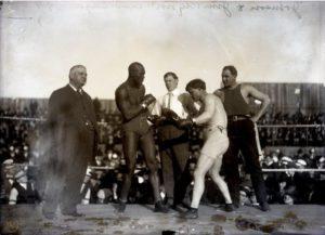 Johnson-Jeffries Fight 1910